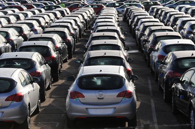 Plus de la moitié des voitures et 90%... (Photo : AFP)