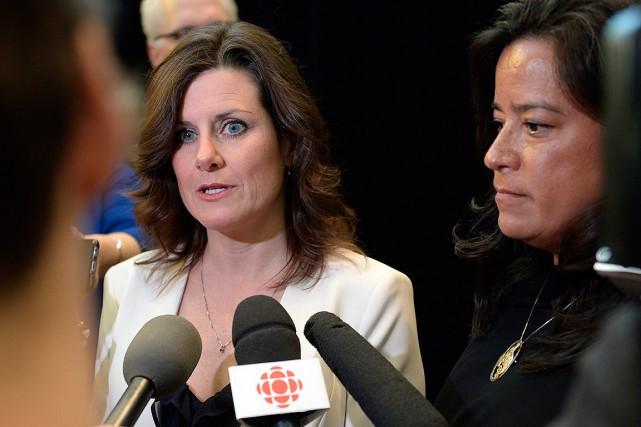 La ministre de la Justice du Québec, Stéphanie... (Justin Tang, La Presse canadienne)