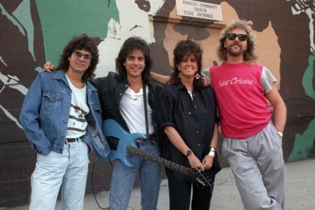 Les membres de Jefferson Starship, photographiés en juillet... (PHOTO ARCHIVES AP)