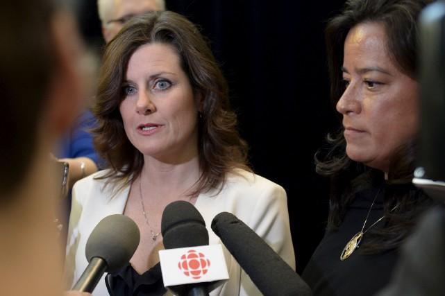La ministre de la Justice du Québec, Stéphanie... (La Presse Canadienne, Justin Tang)