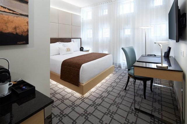 Une chambre «deluxe queen»... (Photo fournie par l'hôtel)
