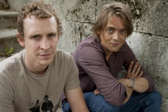 Chris Lavis et Maciek Szczerbowski... (photo christian gobeli, fournie par l'ONF)