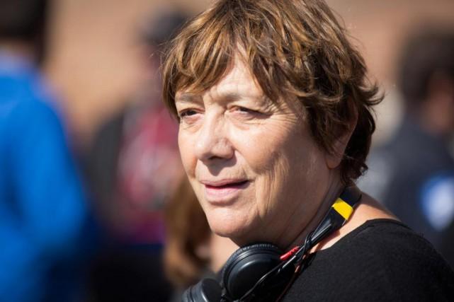 La réalisatrice Léa Pool sur le plateau de... (PHOTO OLIVIER PONTBRIAND, archives LA PRESSE)