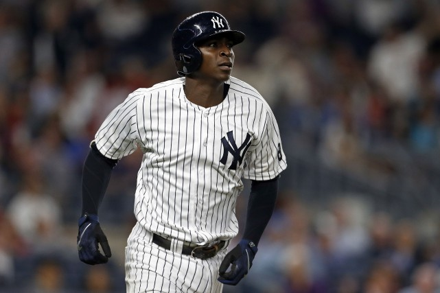 Didi Gregorius jouera bientôt son premier match de... (photo Adam Hunger, USA Today Sports)