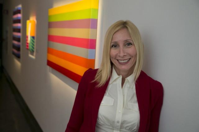 Heidi Spector est ravie de l'installation de ses... (Spectre Média, René Marquis)
