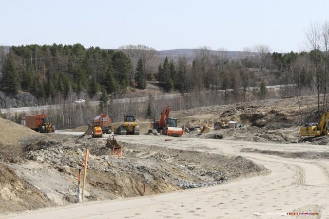Les travaux de la phase deux du Parc... (Photo fournie)