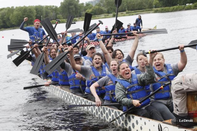 La Course de bateaux-dragons et la Marche de... (Archives, Le Droit)