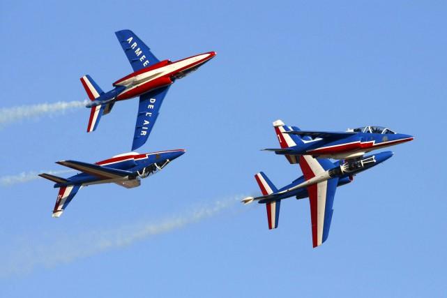 L'équipe de voltige aérienne de la mythique Armée... (Courtoisie)