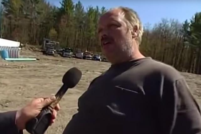 Marc McDermott, un mécanicien de fortune qui a... (Image tirée de YouTube)