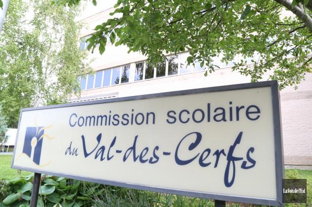 Actuellement, la commission scolaire du Val-des-Cerfs serait, aux dires de... (Janick Marois, archives La Voix de l'Est)