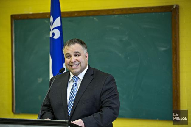 Le ministre de l'ÉducationSébastien Proulxa ouvert la porte... (La Presse photo  PATRICK SANFACO)