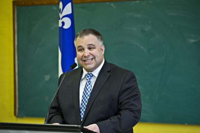 Le ministre de l'Éducation, Sébastien Proulx, a affirmé... (La Presse)