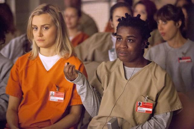Taylor Schilling et Uzo Aduba... (Photo fournie par Netflix)