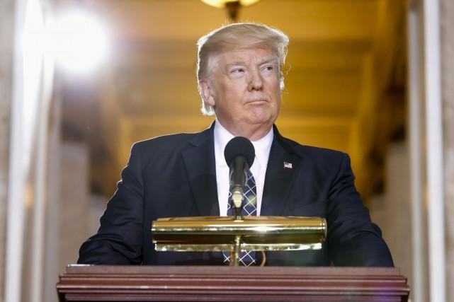 Donald Trump... (Associated Press)