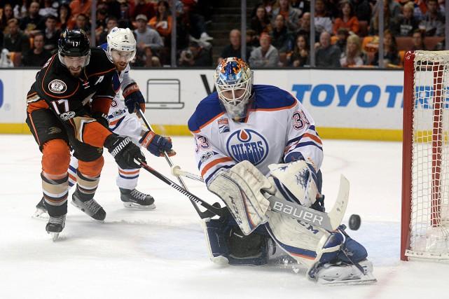 Le gardien des Oilers Cam Talbot a disputé... (USA Today Sports)