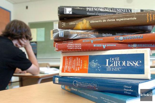 Depuis des années, on se gargarise que la réussite des élèves québécois est en... (Photothèque Le Soleil, Jean-Marie Villeneuve)