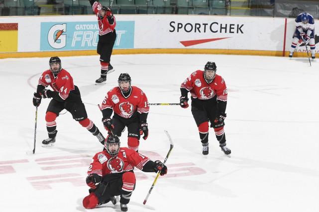 Jakob Pelletier a ouvert la porte de la... (Fournie par Hockey Canada, Matthew Murnaghan)