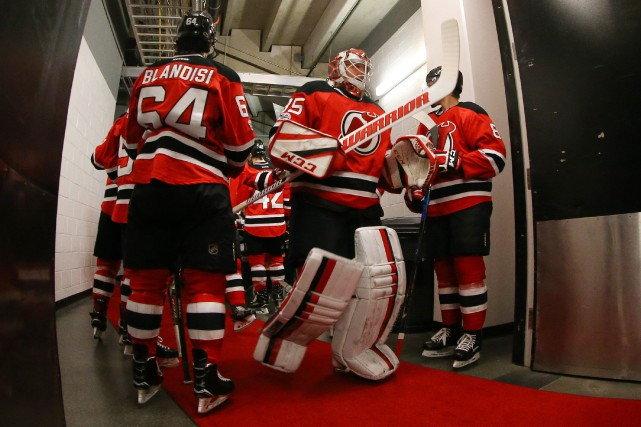 Les Devils auront l'occasion d'effectuer le premier choix... (Photo Ed Mulholland, USA TODAY Sports)