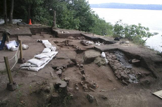 Lorsque les archéologues ont quitté le site en... (CCNQ)