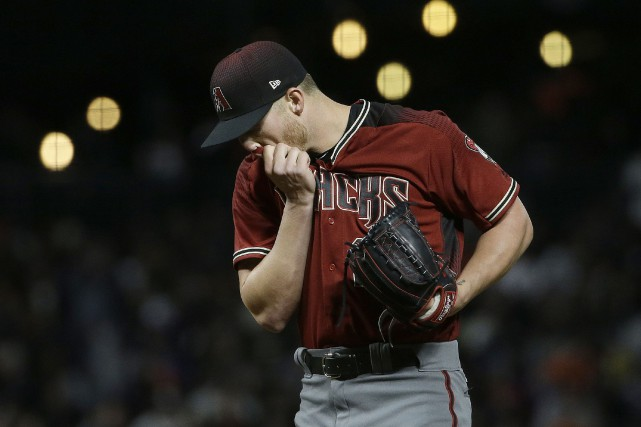 Shelby Miller subira une opération de type Tommy... (Photo Jeff Chiu, AP)