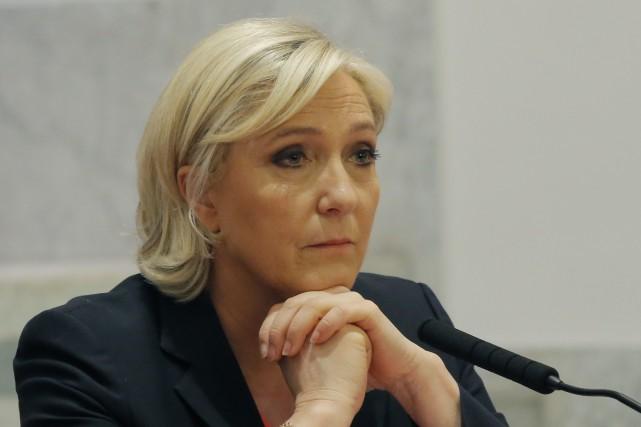 Marine Le Pen... (Photo Michel Euler, Associated Press)