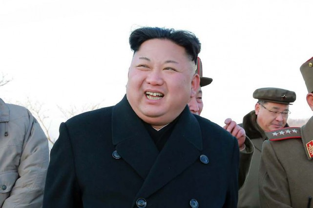 Kim Jong-Un... (Archives AFP)