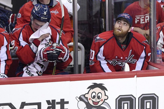 Le gardien Braden Holtby et le défenseur Dmitry... (Photo Nick Wass, AP)