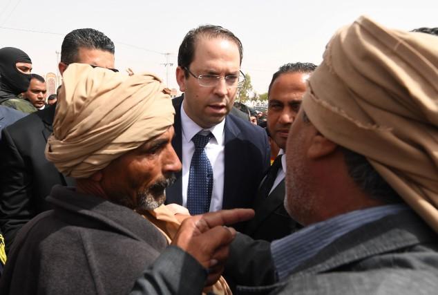 Le premier ministre Youssef Chahed a relevé de... (AFP)
