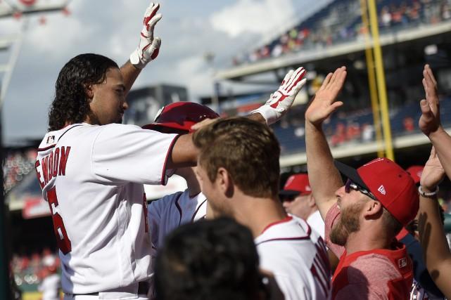 Anthony Rendon a produit 10 points pour les... (Photo Nick Wass, AP)