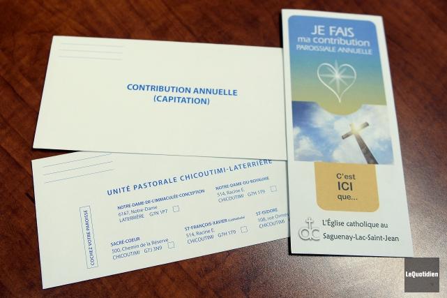 Les paroissiens doivent cocher à quelle église ira... (Photo Le Quotidien, Jeannot Lévesque)