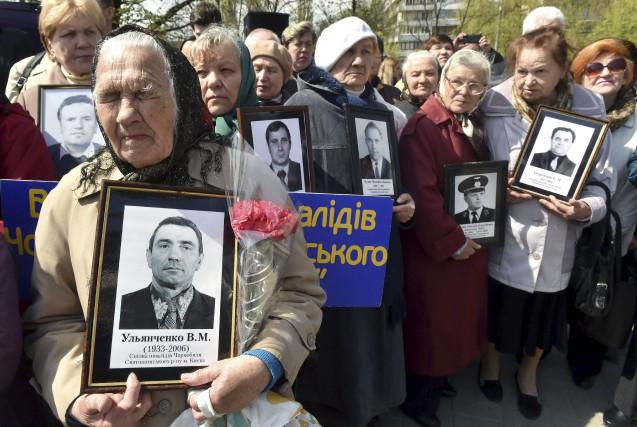 L'Ukraine commémorait mercredi le 31eanniversaire de la catastrophe... (AFP, Sergei Supinsky)