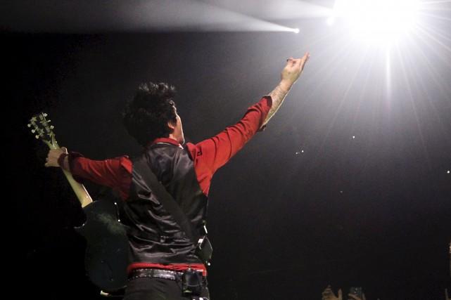Billie Joe Armstrong de Green Day... (Le Soleil, Yan Doublet)