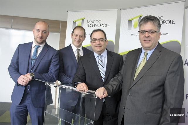 Quatre entreprises de la région ont accepté d'appuyer... (La Tribune, Jean-François Gagnon)