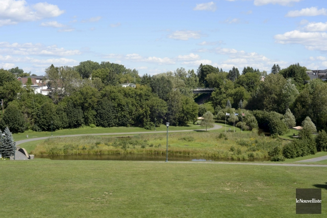 Le parc de la Rivière-Grand-Mère.... (Sylvain Mayer, Le Nouvelliste)
