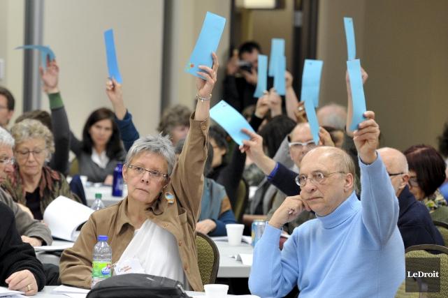 Des forums citoyens ont été organisés par Action... (Martin Roy, archives Le Droit)