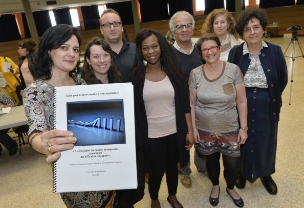 Les membres du comité organisateur du forum Les... (Maxime Picard)