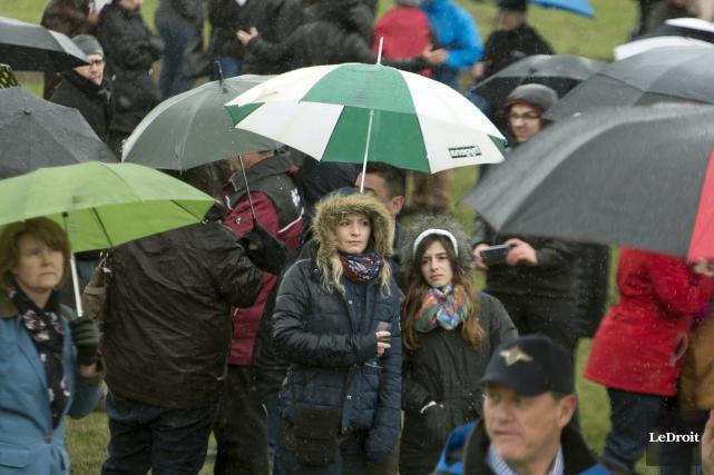 De 20 à 40 millimètres de pluie devraient... (Martin Roy, Le Droit)