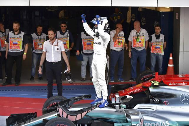 Après être parti troisième sur la grille de... (AFP, Andrej Isakovic)