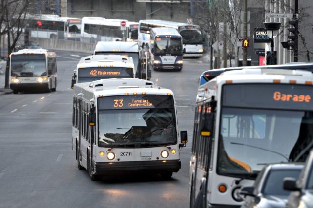 L'écart de financement entre le transport en commun... (Photothèque Le Soleil)