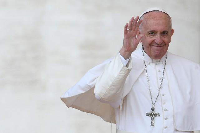 Le pape François avait déclaré samedi qu'il était... (Photo  Vincenzo PINTO, AFP)