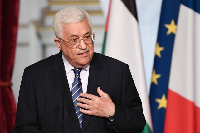 Le président palestinien Mahmoud Abbas.... (AFP)