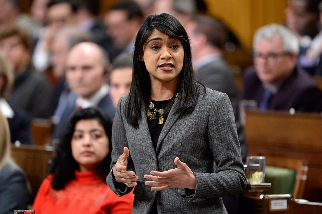 L'honorable Bardish Chagger est leader du gouvernement à... (Adrian Wyld, archives PC)