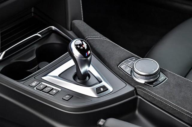 L'offre de la boîte manuelle décline à un... (PHOTO FOURNIE PAR BMW)