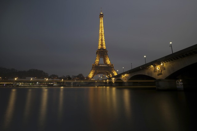 Le 20 avril, à Paris, trois jours avant... (photo Philippe Wojazer, Reuters)