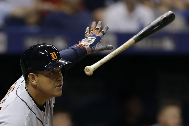 Miguel Cabrera n'a pas joué depuis le 21 avril... (Photo Chris O'Meara, AP)