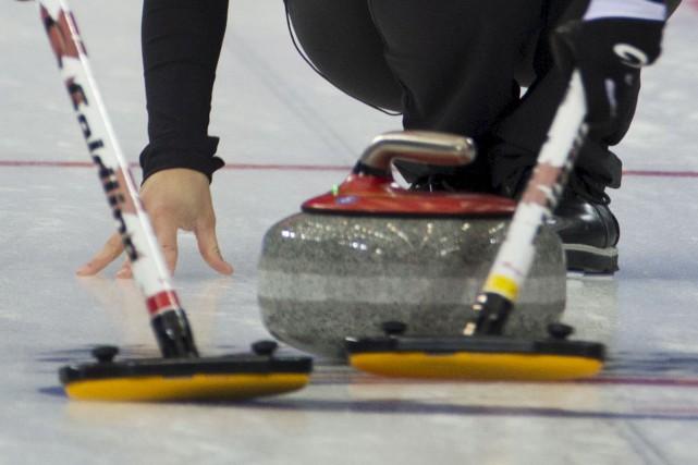 Curling Canada a dévoilé lundi l'identité de 14... (Ng Han Guan, Associated Press)