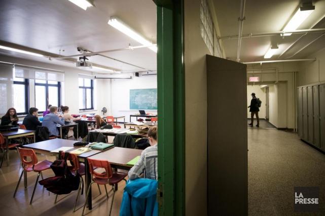 Tous les enseignants interrogés l'ont dit:l'arrivée massive au... (MARCO CAMPANOZZI, LA PRESSE)