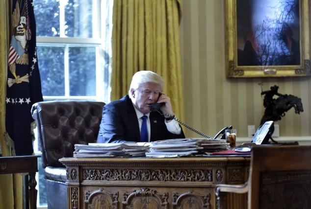 Donald Trump a appelé une première fois à... (Archives AFP)