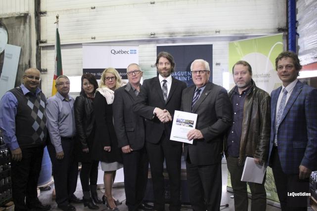 Le président de la Table agroalimentaire du Saguenay-Lac-Saint-Jean,... (Photo Le Quotidien, Isabelle Tremblay)