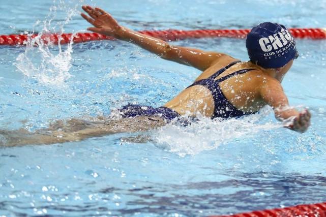 Raphaëlle Lavoie, du Club de natation de Jonquière,... (Photo courtoisie)